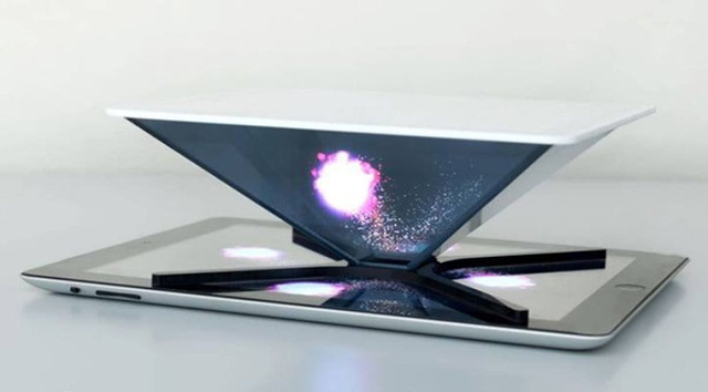 Future-technology-Holho-concept-of-the-holographic-display